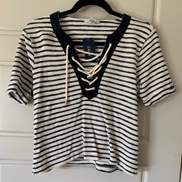 Forever 21 Tops - Striped Nautical Shirt